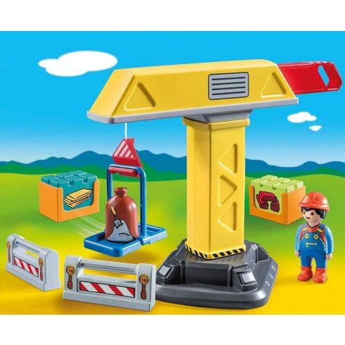Playmobil 70165 1.2.3 Építési daru