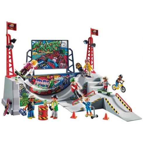 Playmobil 70168 Gördeszka pálya
