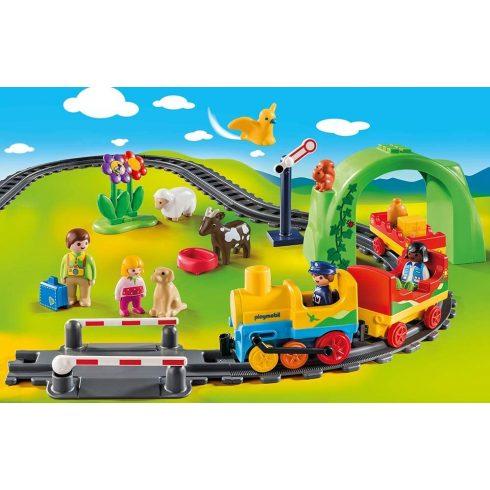 Playmobil 70179 1.2.3 Az első kisvasutam