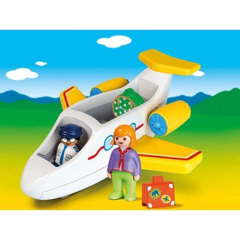 Playmobil 70185 1.2.3 Utasszállító kisrepülőgép