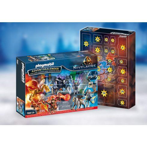 Playmobil 70187 Karácsony - Novelmore adventi kalendárium, naptár - Harc a varázslatos kőért