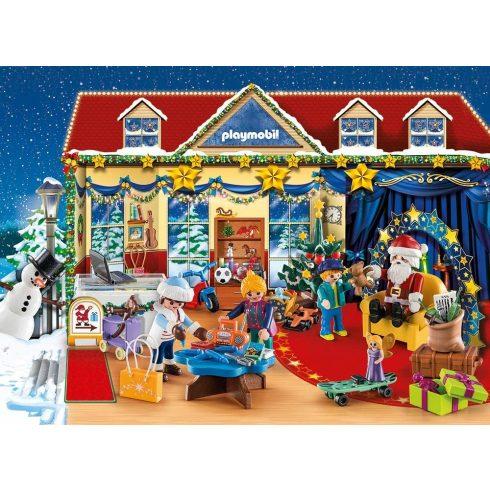 Playmobil 70188 Karácsony - Adventi kalendárium, naptár - Karácsony a játékboltban
