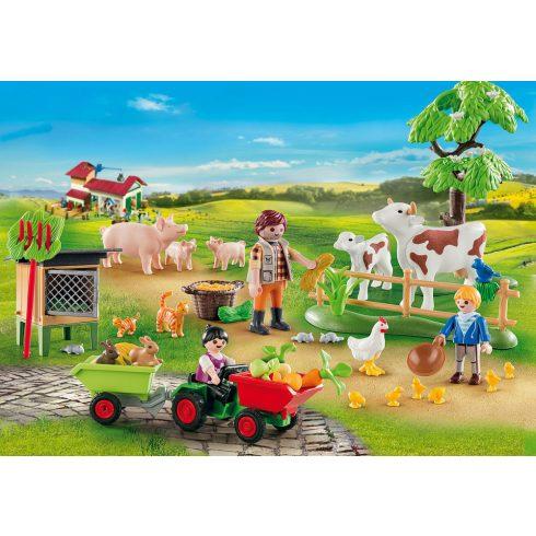 Playmobil 70189 Karácsony - Adventi kalendárium, naptár - A tanyán