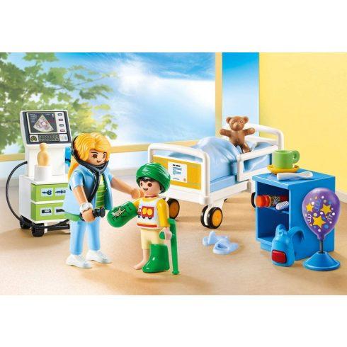 Playmobil 70192 Gyerek betegszoba