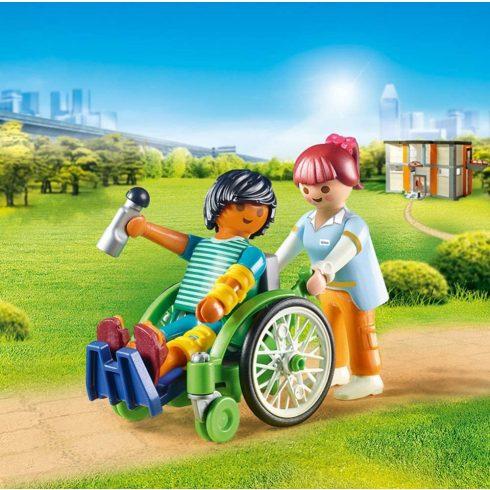 Playmobil 70193 Beteg kerekesszékben