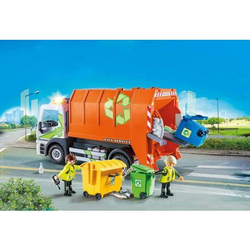 Playmobil 70200 Szelektív hulladékgyűjtő kukásautó