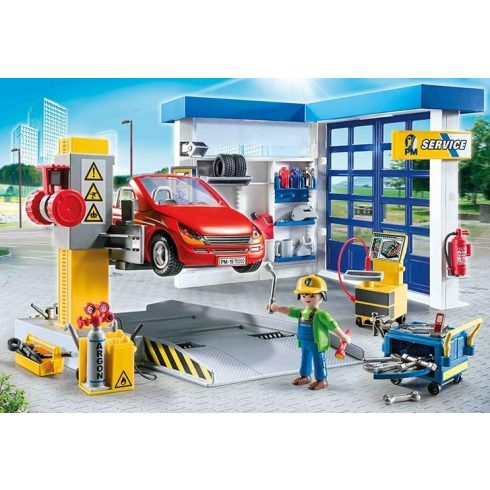 Playmobil 70202 Autószerelő műhely