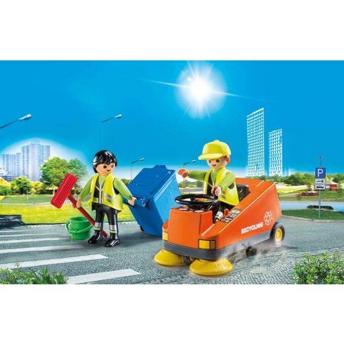 Playmobil 70203 Utcaseprő autó