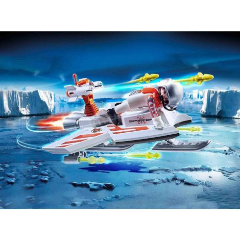 Playmobil 70234 SPY TEAM Vitorlázó repülő