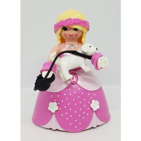 Playmobil 70243 Hölgy kiskutyával zsákbamacska figura 17. sorozat (lányoknak)