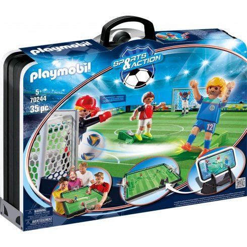 Playmobil 70244 Hordozható focistadion