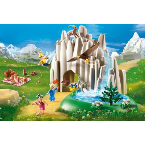 Playmobil 70254 Heidi - Kristálytó
