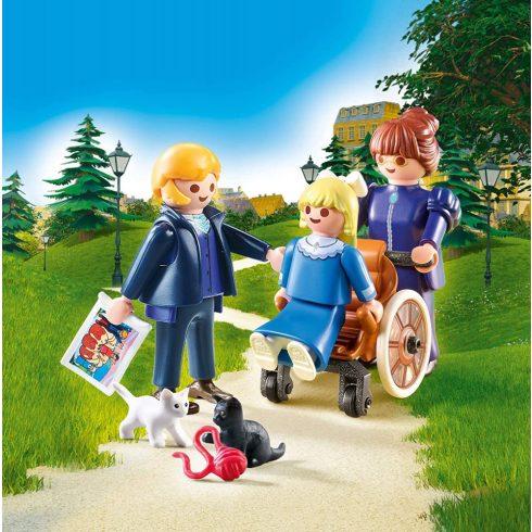 Playmobil 70258 Heidi - Clara apukájával és Rottenmeier kisasszonnyal