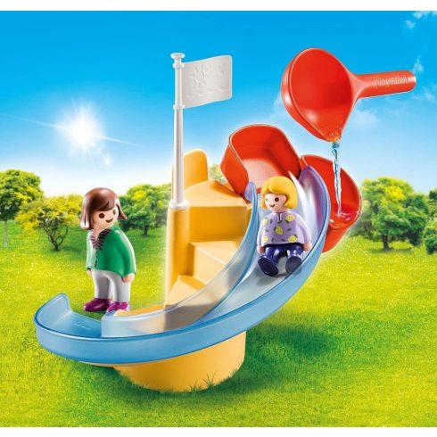 Playmobil 70270 1.2.3 Vízi csúszda