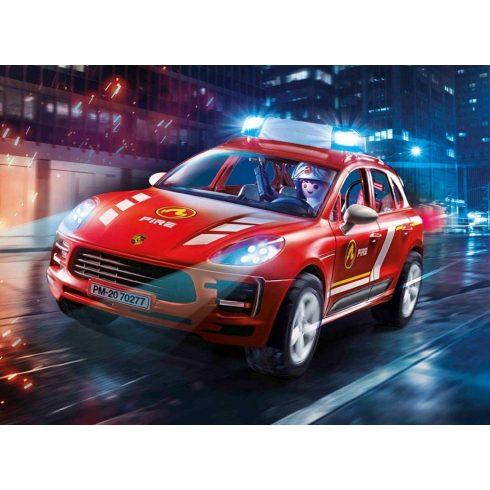 Playmobil 70277 Porsche Macan S tűzoltóautó