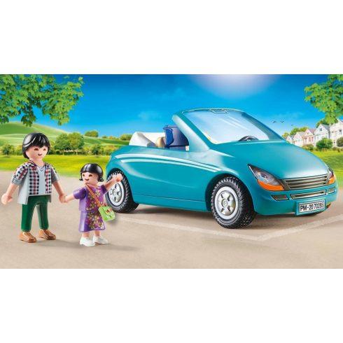 Playmobil 70285 Apuka kislányával és autóval