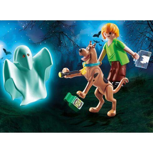 Playmobil 70287 SCOOBY-DOO! - Scooby és Bozont szellemmel