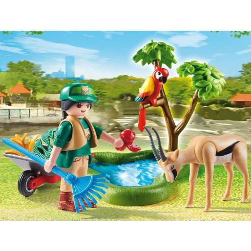 Playmobil 70295 Állatkert ajándékszett