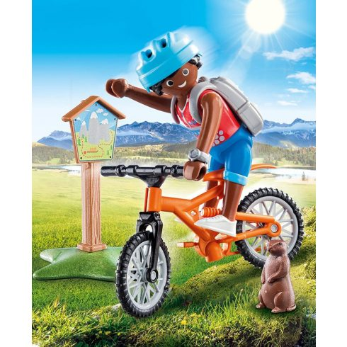 Playmobil 70303 Hegyi túra biciklivel