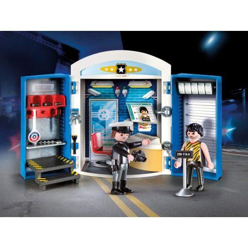 Playmobil 70306 Rendőrség játékdoboz