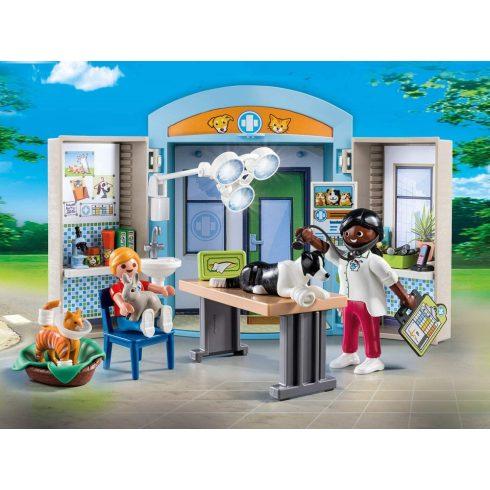 Playmobil 70309 Állatorvos játékdoboz