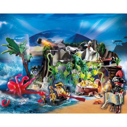 Playmobil 70322 Karácsony - Adventi kalendárium, naptár - Kalózok