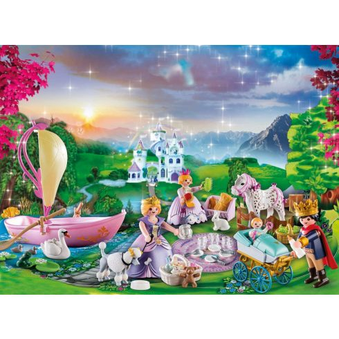 Playmobil 70323 Karácsony - Adventi kalendárium, naptár - Királyi piknik a parkban