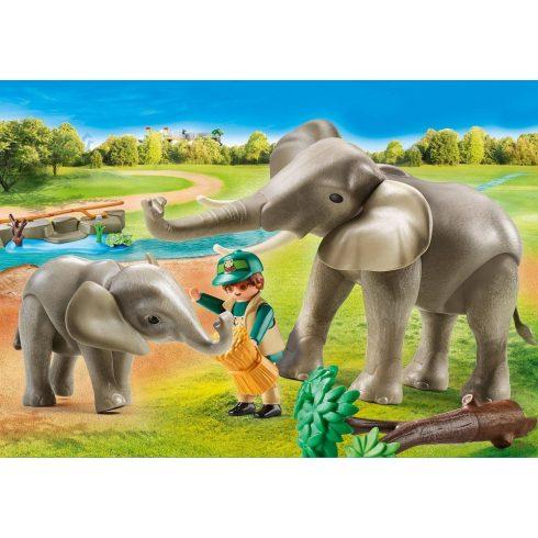 Playmobil 70324 Elefántok a kifutón
