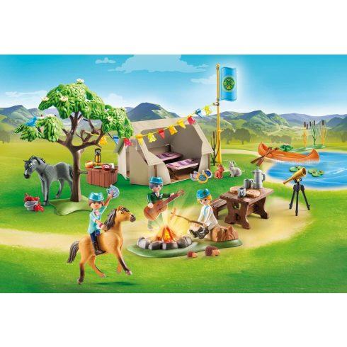 Playmobil 70329 Spirit - Nyári tábor