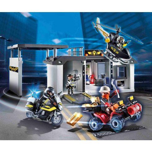 Playmobil 70338 Speciális egység hordozható központja
