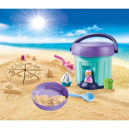 Playmobil 70339 1.2.3 Homok cukrászda kreatív készlet