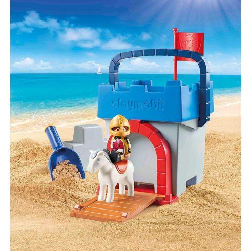 Playmobil 70340 1.2.3 Homokvár kreatív készlet