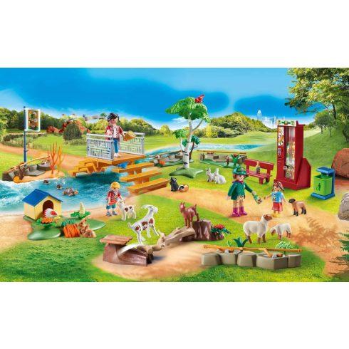 Playmobil 70342 Állatsimogató