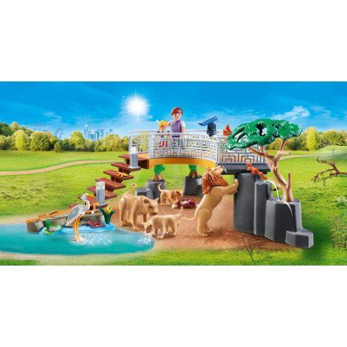 Playmobil 70343 Oroszlánok a kifutón