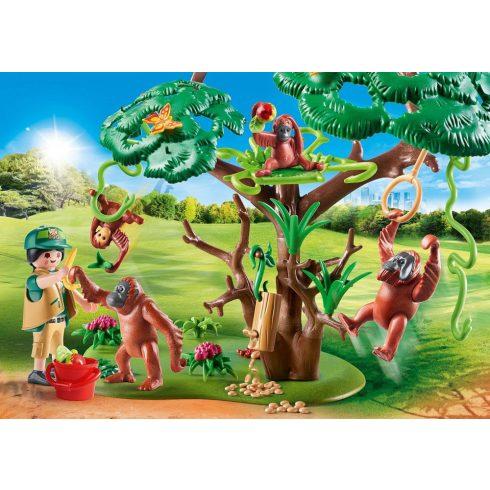 Playmobil 70345 Orangutánok a fán