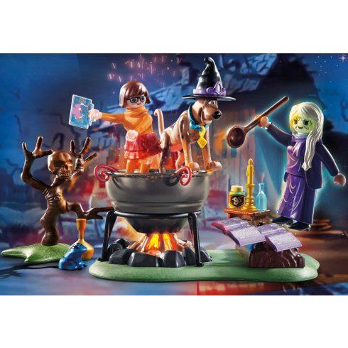 Playmobil 70366 SCOOBY-DOO! - Kaland a boszorkányüstben