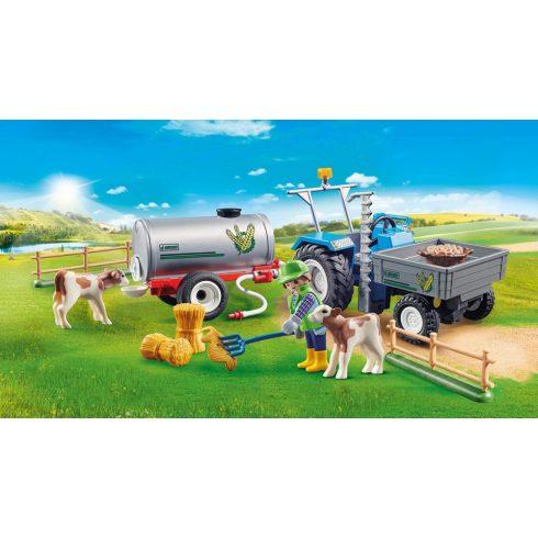 Playmobil 70367 Traktor víztartállyal