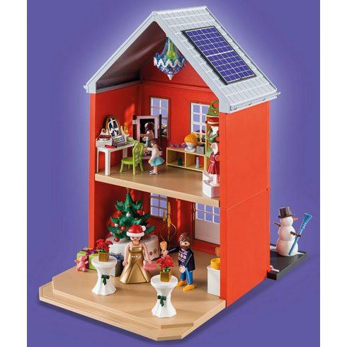 Playmobil 70383 Karácsony - Nagy adventi kalendárium, naptár - Berendezett karácsonyi ház