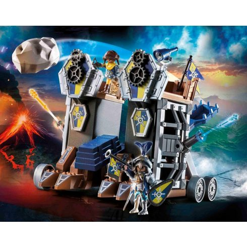 Playmobil 70391 Novelmore guruló erődje
