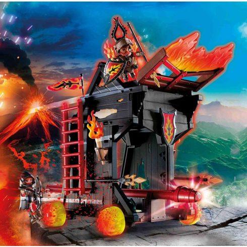 Playmobil 70393 Novelmore - Burnham tüzes faltörő kos
