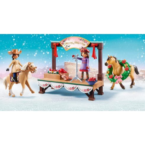 Playmobil 70396 Spirit - Karácsonyi koncert