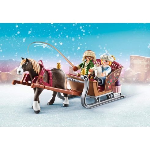 Playmobil 70397 Spirit - Téli szánkózás