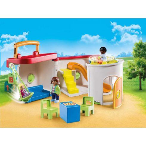 Playmobil 70399 1.2.3 Hordozható óvoda