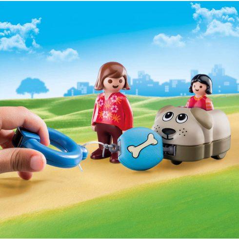 Playmobil 70406 1.2.3 Kutyasétáltatás