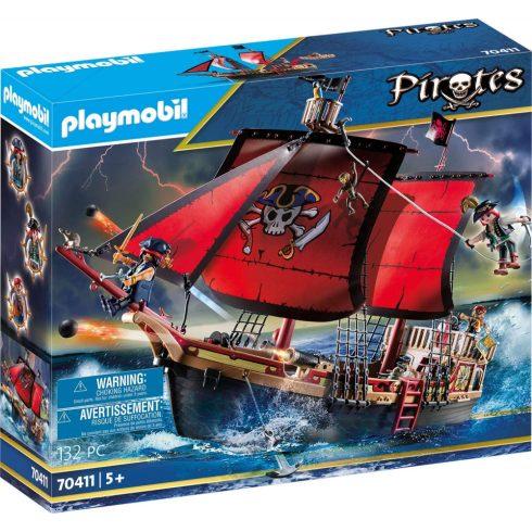Playmobil 70411 Halálfejes kalózhajó (csomagolássérült)