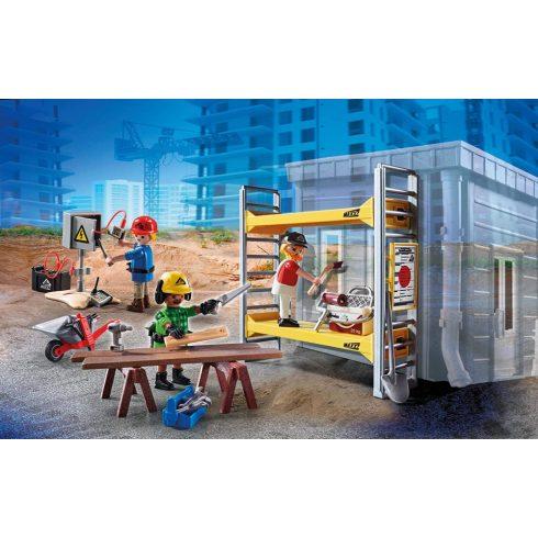Playmobil 70446 Építési állvány munkásokkal