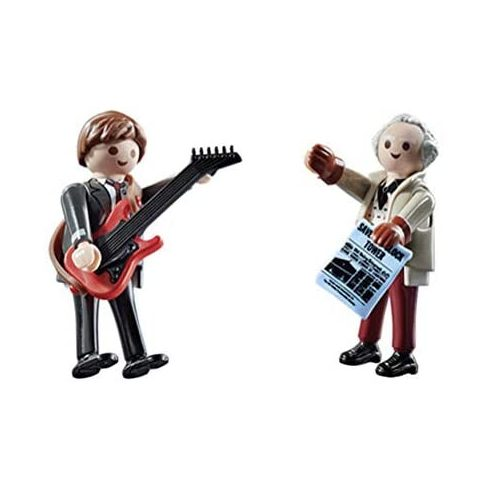 Playmobil 70459 Back to the Future - Marty McFly és Dr. Emmett Brown