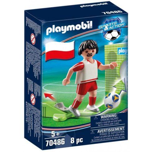 Playmobil 70486 Lengyel válogatott játékos