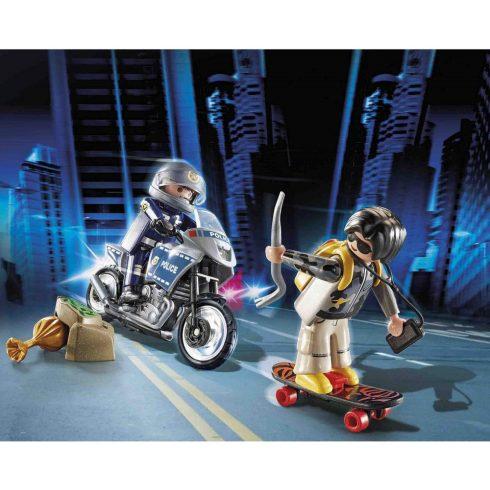 Playmobil 70502 StarterPack Rendőrség kiegészítő szett