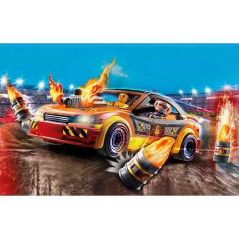 Playmobil 70551 Stuntshow - Kaszkadőr autó lángnyelvekkel